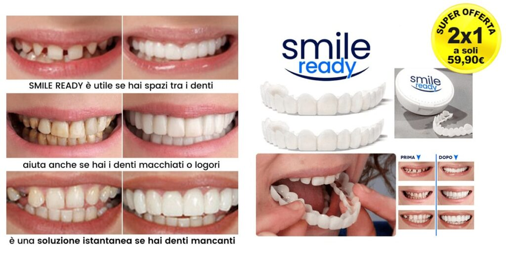 Smile Ready - Recensioni Vere 2020, Farmacia, Prezzo e Funziona?