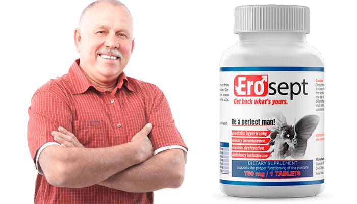 Quali ingredienti contengono EroSept?
