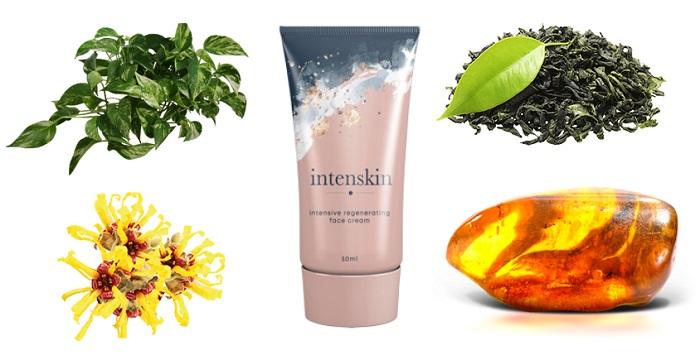 Intenskin - Quali ingredienti nella formula della crema?